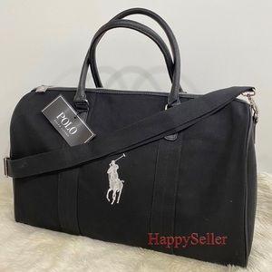 POLO Duffle Bag Gym Weekender Holdall Tote Lauren